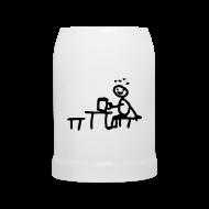 Tassen & Zubehör ~ Bierkrug ~ Biergartenkrug