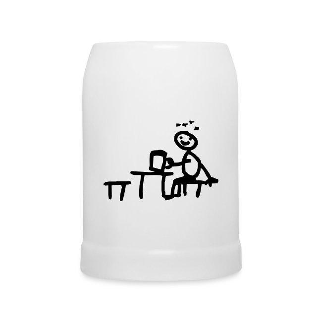 Biergartenkrug