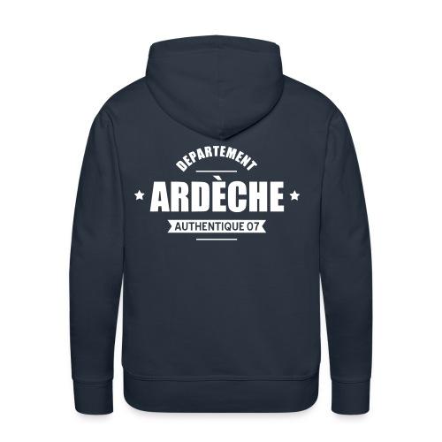 Sweat Ardèche Authentique - Sweat-shirt à capuche Premium pour hommes