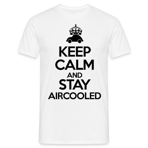 Keep Calm and stay Aircooled - Koszulka męska