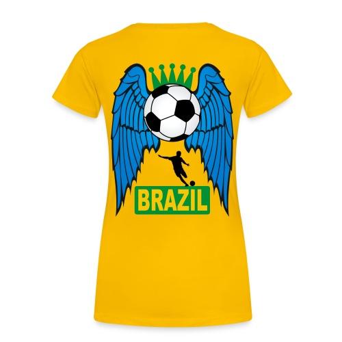 Brazil sport football - Women's Premium T-Shirt