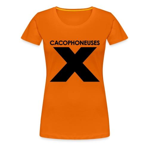 Orange mekanikal - Women's Premium T-Shirt