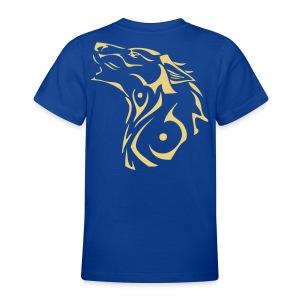 T-Shirt Ado loup tribal - T-shirt Ado