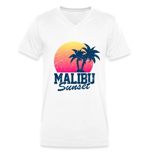 Malibu GlorySunset  - T-shirt bio col V Stanley & Stella Homme