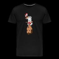 T-Shirts ~ Men's Premium T-Shirt ~ Men T-Shirt- German front flip