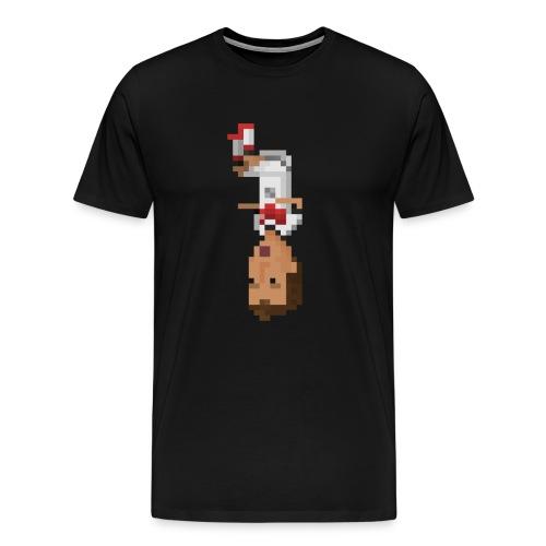 Men T-Shirt- German front flip - Men's Premium T-Shirt