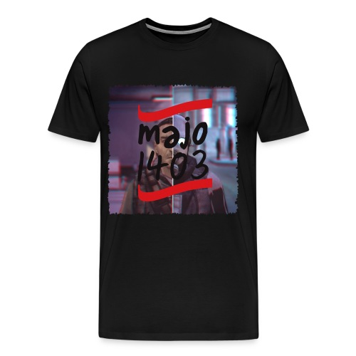 majo+w/out+Shadow+++Black - Männer Premium T-Shirt