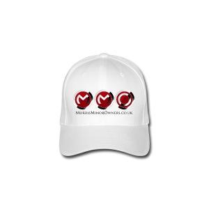 Flexfit baseball Cap White - Flexfit Baseball Cap