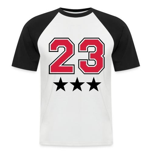 icrew  - Camiseta béisbol manga corta hombre
