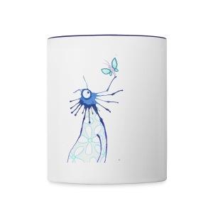 Blauling No. 3 - Tasse zweifarbig
