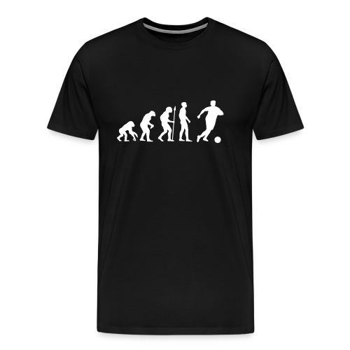 Evolution Fussball - Männer Premium T-Shirt