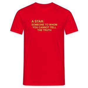 Howlin' Mad Murdock's 'A Star...' shirt - Men's T-Shirt