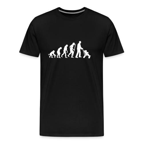 Evolution Kinderwagen - Männer Premium T-Shirt