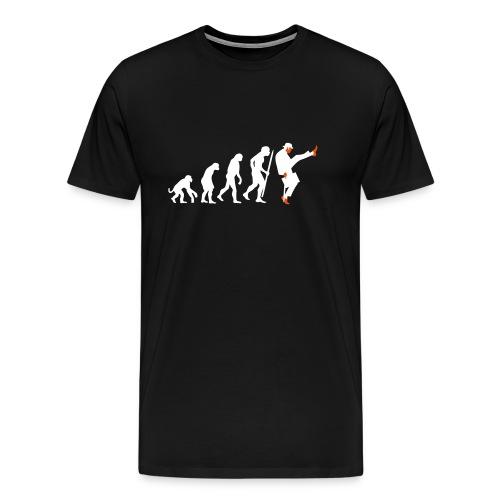 Evolution to silly walking - Männer Premium T-Shirt