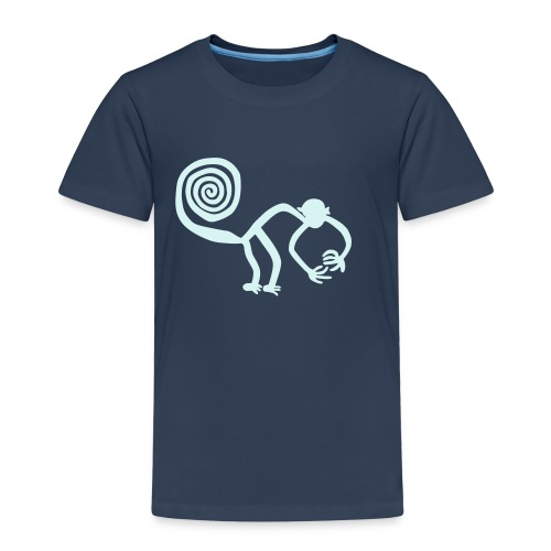 Nazca Affe, reflex - Kinder Premium T-Shirt