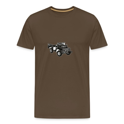 WC52 Weapons Carrier T-Shirt (Green) - Men's Premium T-Shirt