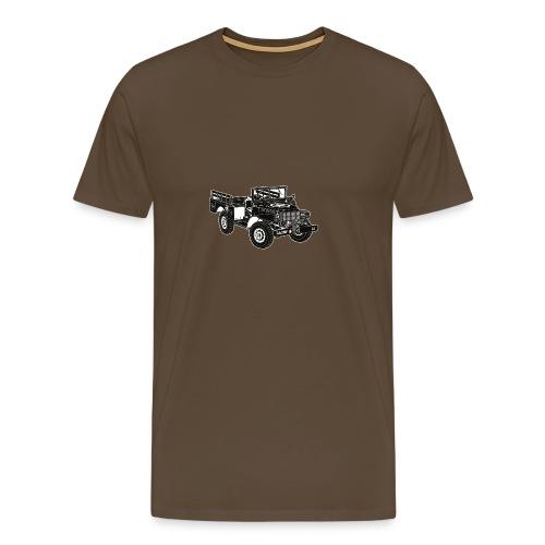 WC52 Weapons Carrier T-Shirt (Green) - Men's Premium T-Shirt