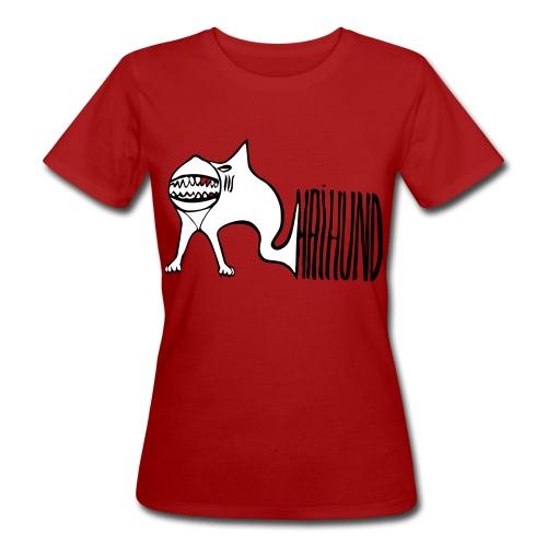 Haihund1 - Frauen Bio-T-Shirt