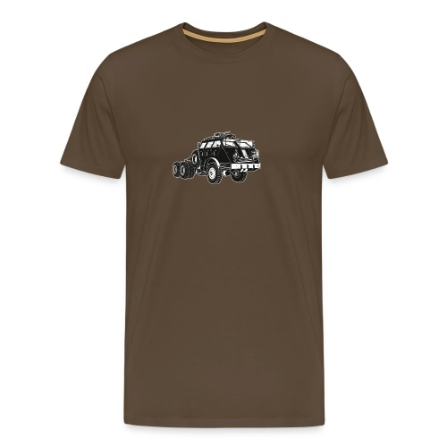 M26 Dragon Wagon T-Shirt (Green) - Men's Premium T-Shirt