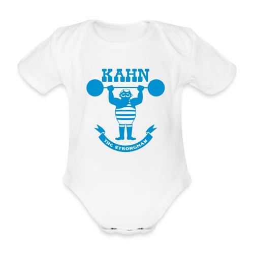 Kahn the Strongman - Organic Short-sleeved Baby Bodysuit