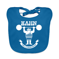 Baby Bibs ~ Baby Organic Bib ~ Kahn the Strongman