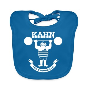 Kahn the Strongman - Baby Organic Bib