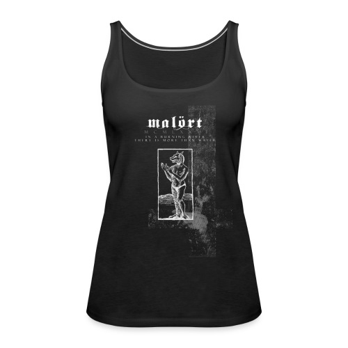 A Wolf in The Water - Women's Tank-Top - Women's Premium Tank Top