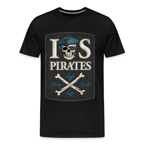 IOS Pirates T-Shirt (round neck), Men  - Männer Premium T-Shirt