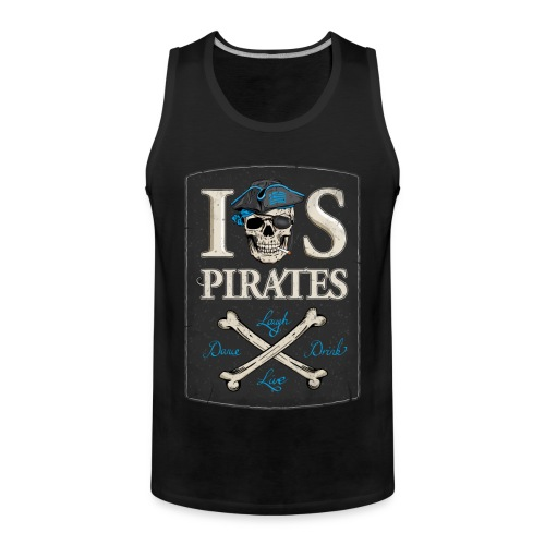 IOS Pirates Tank Top, Men  - Männer Premium Tank Top