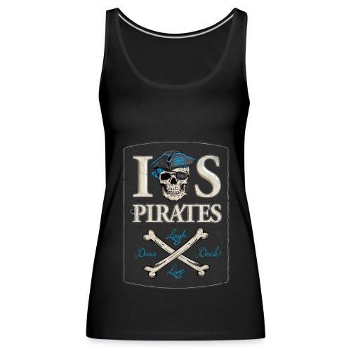 IOS Pirates Tank Top, Girls - Frauen Premium Tank Top