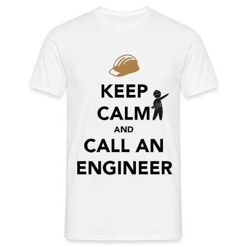 KEEP CALM ENGENEER - Maglietta da uomo