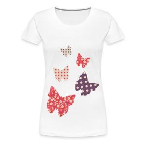 Womens-butterfly - Women's Premium T-Shirt
