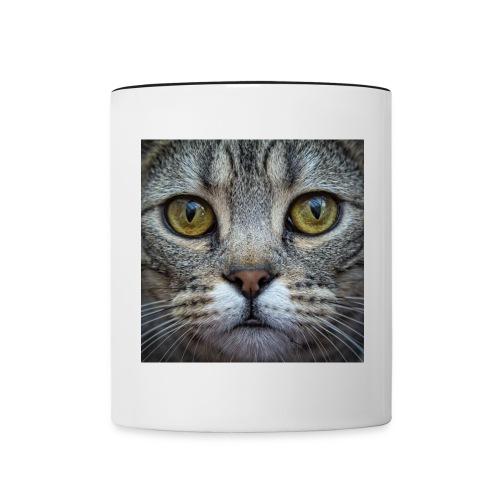Bengal Cat Mug - Contrasting Mug