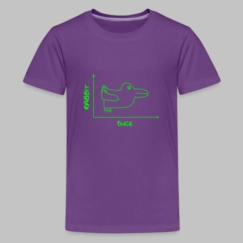 Tshirt ado (teenager) Duck'n Rabbit - Teenage Premium T-Shirt