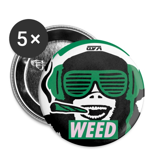 OVA Weed BADGE - Badge moyen 32 mm
