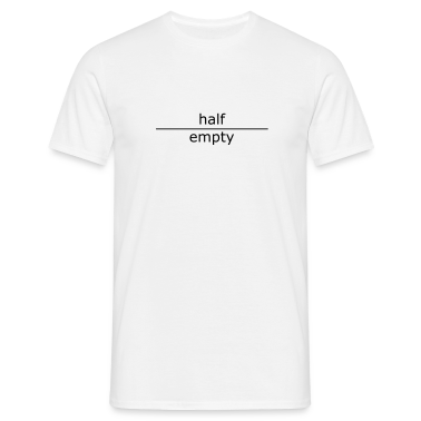 half empty (for mugs and bags)