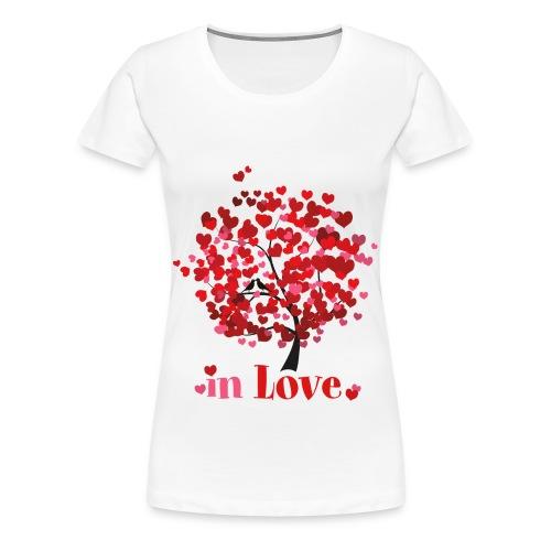 Frauen T-Shirt In Love - Frauen Premium T-Shirt