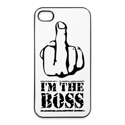 Im the boss - iPhone 4/4s Hard Case