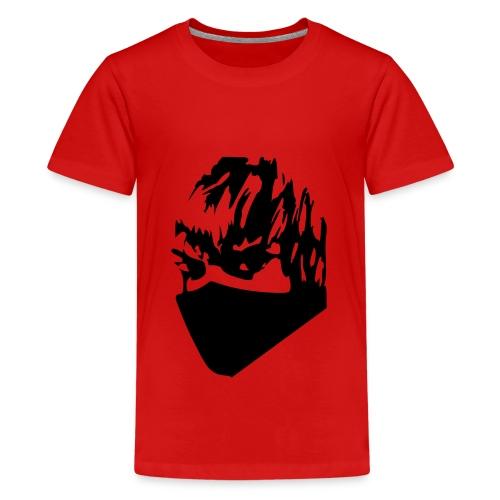 T-Shirt Black Block (Boy) - Maglietta Premium per ragazzi