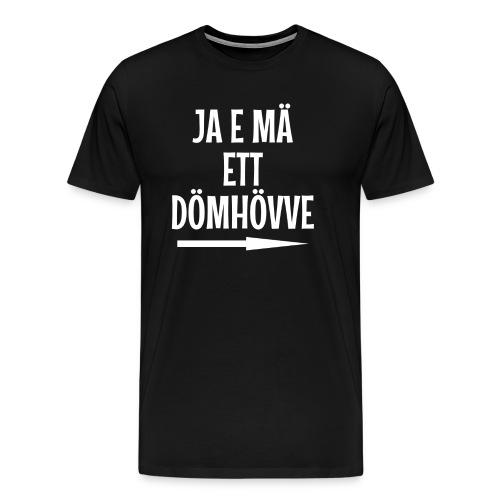 Dömhövve - Premium-T-shirt herr