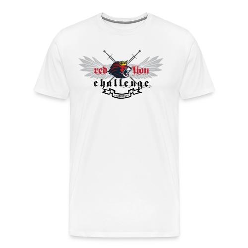 Red Lion Challenge 2014 Official Tshirt - Men's Premium T-Shirt