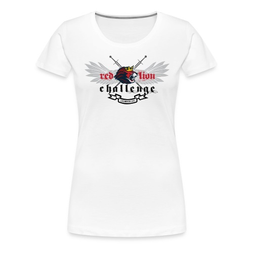Red Lion Challenge 2014 Official Tshirt - Women's Premium T-Shirt
