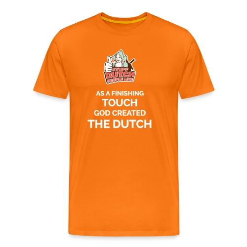 The finishing touch... - Men's Premium T-Shirt