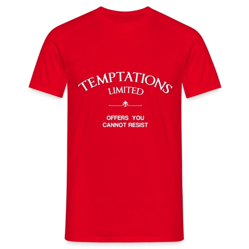 Temptations Basic - Men's T-Shirt