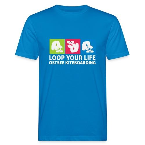 Loop your Life - Männer Bio-T-Shirt