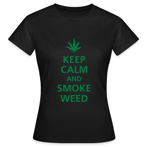 Tee Shirt femme Weed - T-shirt Femme