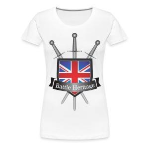 Battle Heritage Logo Women's T-Shirt - Women's Premium T-Shirt
