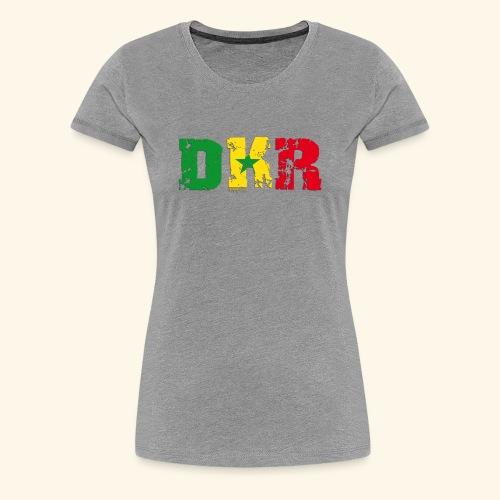 DAKAR-1 Girl Premium - T-shirt Premium Femme