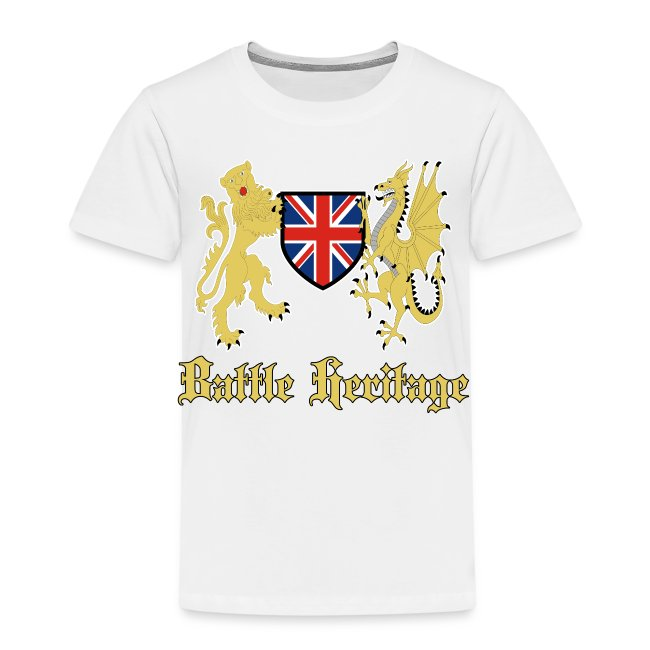 Battle Heritage Lion Dragon Kiddies T-Shirt
