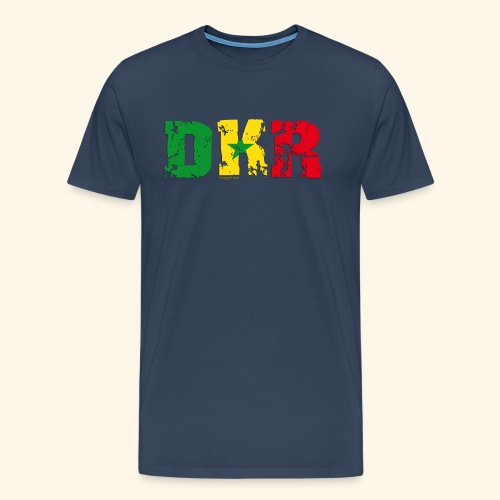 DAKAR-1 Man Premium - T-shirt Premium Homme